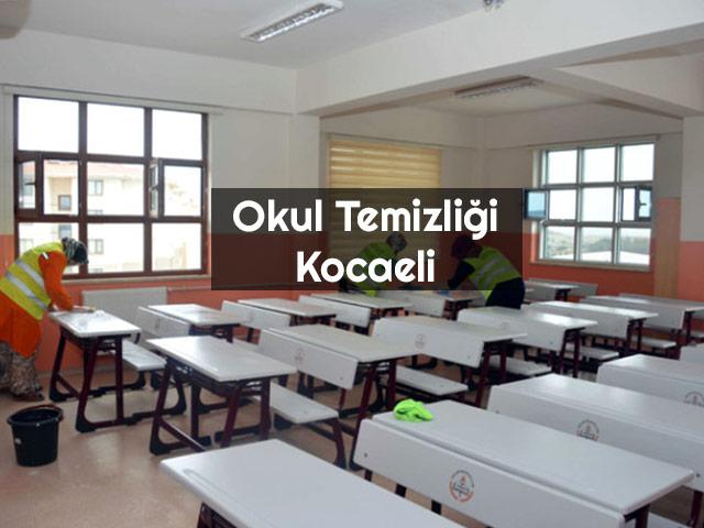 Okul Temizliği Kocaeli İzmit